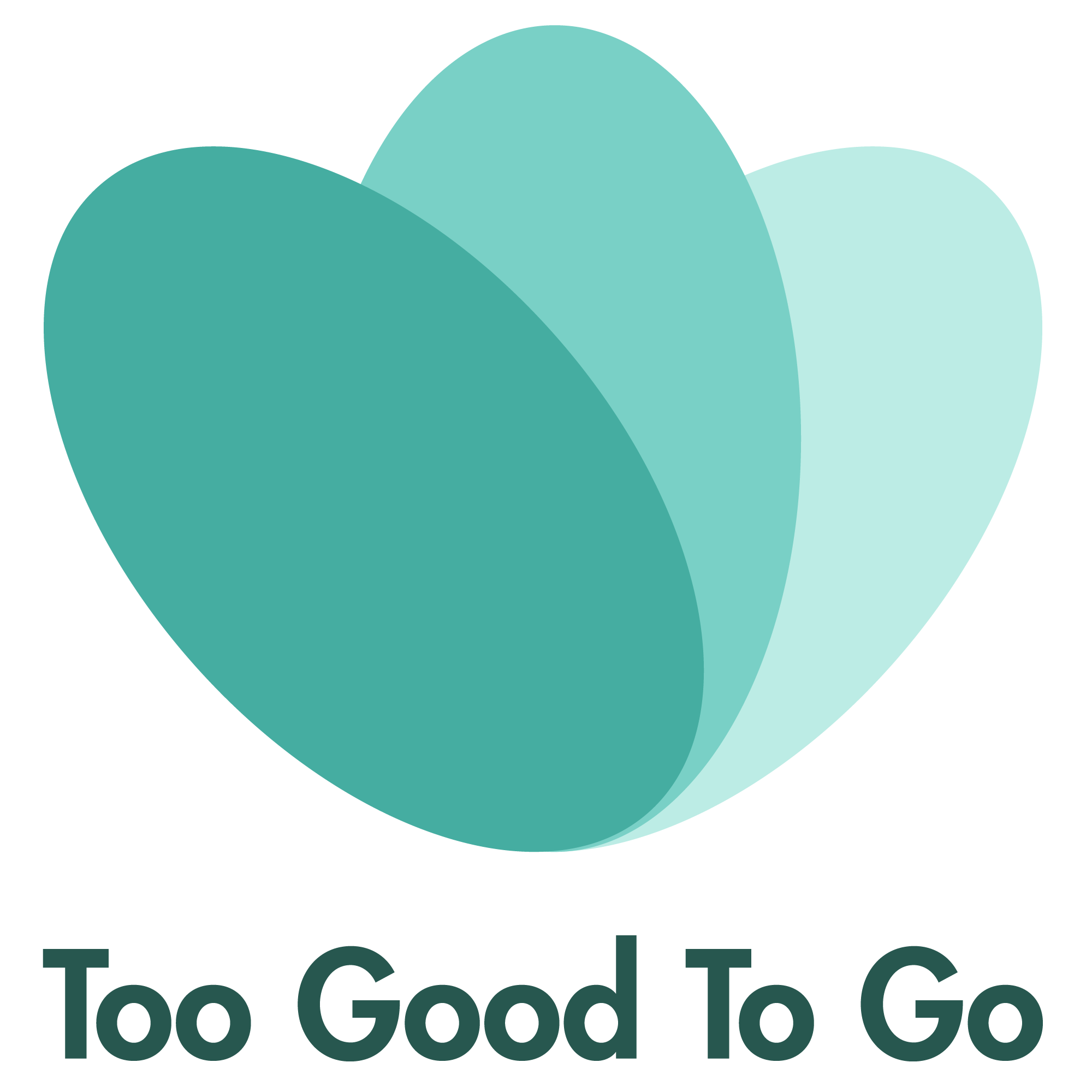 The logo for the app Too Good To Go