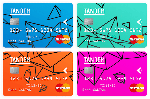 credit cards in different colours